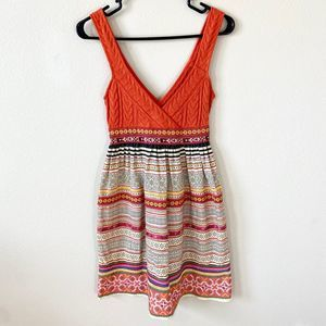 Free People Size 0 Boho Embroidered Dress